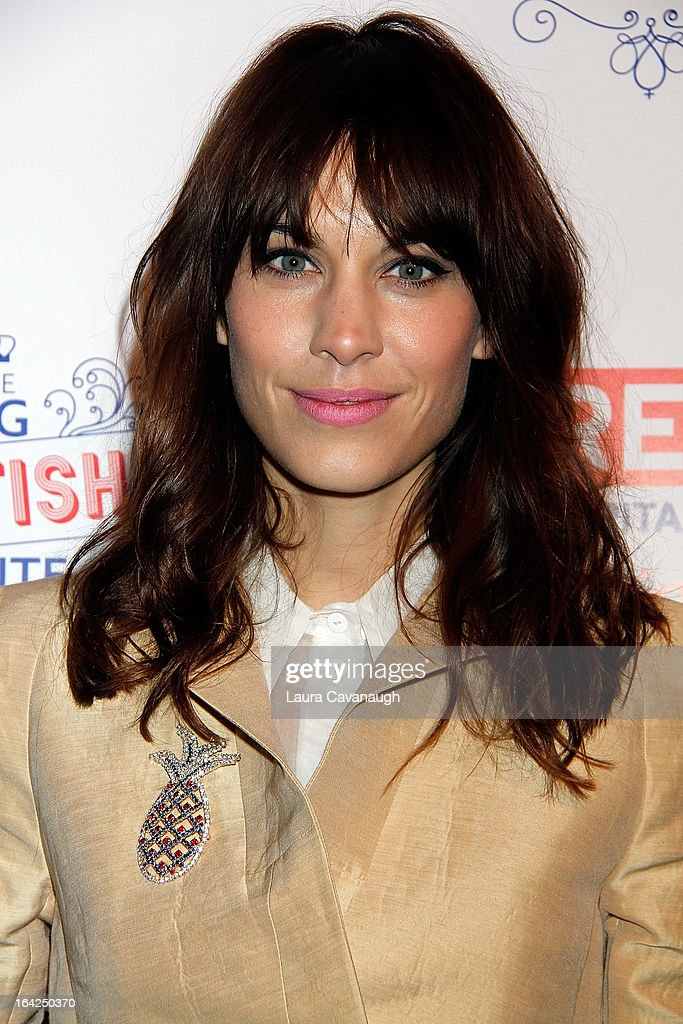 Alexa Chung attends The Big British Invite at 78 Mercer Street on March 21, 2013 in New York City.
