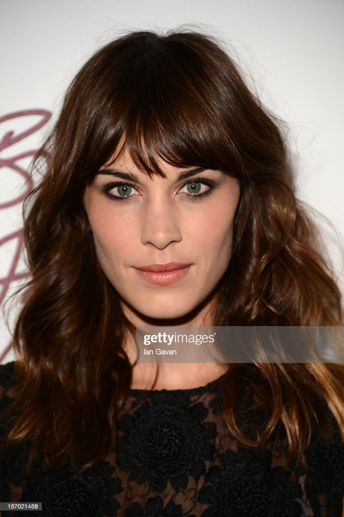 Alexa Chung attends the British Fashion Awards 2012 at The Savoy Hotel on November 27 2012 in London England