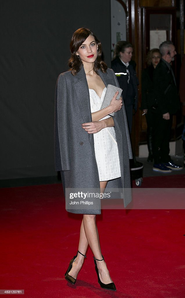 <a gi-track='captionPersonalityLinkClicked' href=/galleries/search?phrase=Alexa+Chung&family=editorial&specificpeople=3141821 ng-click='$event.stopPropagation()'>Alexa Chung</a> attends the British Fashion Awards 2013 at London Coliseum on December 2, 2013 in London, England.
