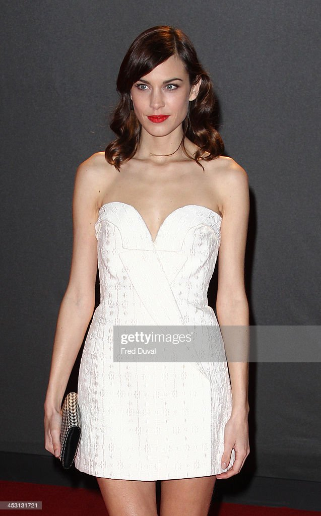 Alexa Chung attends the British Fashion Awards 2013 at London Coliseum on December 2, 2013 in London, England.