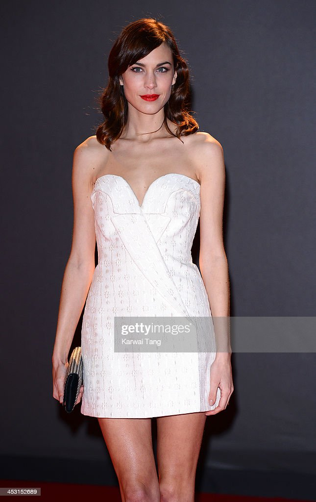 Alexa Chung attends the British Fashion Awards 2013 held at the London Coliseum on December 2, 2013 in London, England.