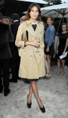 Alexa Chung attends the Burberry Serpentine Summer Party at The Serpentine Gallery on June 28 2011 in London England