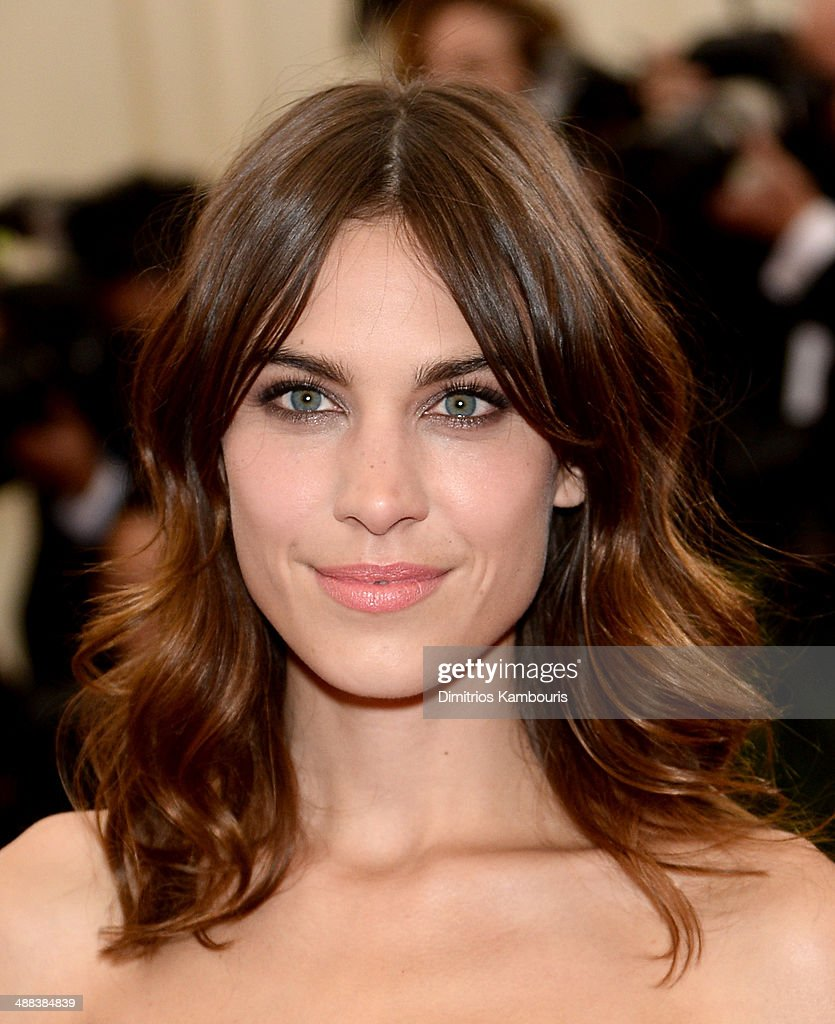 Alexa Chung attends the 'Charles James: Beyond Fashion' Costume Institute Gala at the Metropolitan Museum of Art on May 5, 2014 in New York City.