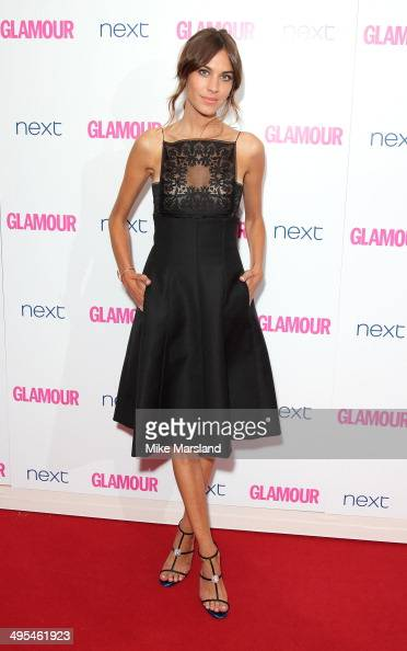Alexa Chung attends the Glamour Women of the Year Awards at Berkeley Square Gardens on June 3 2014 in London England