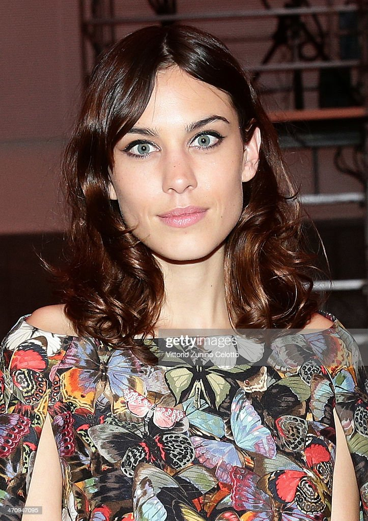 <a gi-track='captionPersonalityLinkClicked' href=/galleries/search?phrase=Alexa+Chung&family=editorial&specificpeople=3141821 ng-click='$event.stopPropagation()'>Alexa Chung</a> attends the International Woolmark Prize as part of Milan Fashion Week Womenswear Autumn/Winter 2014 on February 21, 2014 in Milan, Italy.
