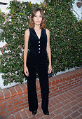 Alexa Chung attends the launch of Alexa Chung X AG PA at Ron Herman on July 23 2015 in Los Angeles California