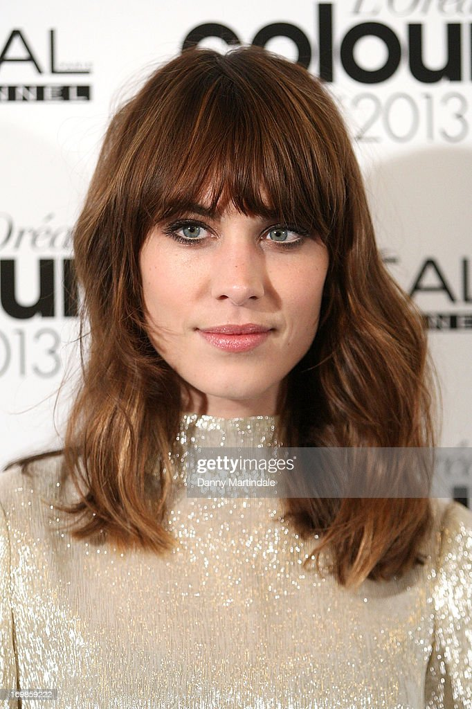 <a gi-track='captionPersonalityLinkClicked' href=/galleries/search?phrase=Alexa+Chung&family=editorial&specificpeople=3141821 ng-click='$event.stopPropagation()'>Alexa Chung</a> attends the L'Oreal Colour Trophy Awards 2013 at Grosvenor House, on June 3, 2013 in London, England.