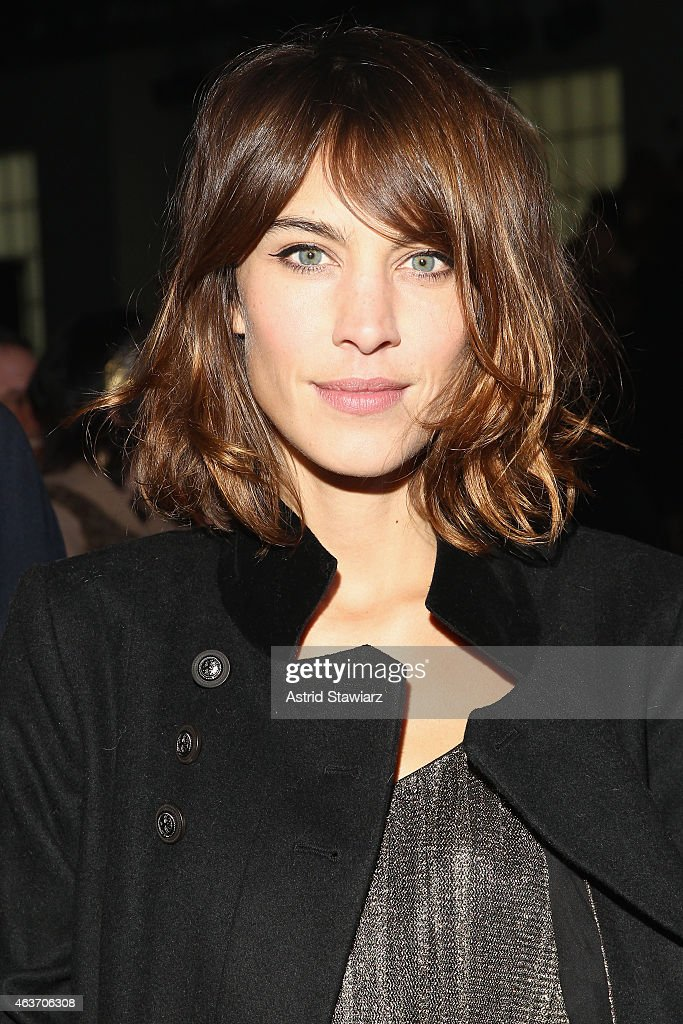 <a gi-track='captionPersonalityLinkClicked' href=/galleries/search?phrase=Alexa+Chung&family=editorial&specificpeople=3141821 ng-click='$event.stopPropagation()'>Alexa Chung</a> attends the Marc By Marc Jacobs fashion show during Mercedes-Benz Fashion Week Fall 2015 at Pier 94 on February 17, 2015 in New York City.