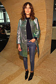 Alexa Chung attends the Marc By Marc Jacobs fashion show during MercedesBenz Fashion Week Fall 2014 at Pier 36 on February 11 2014 in New York City