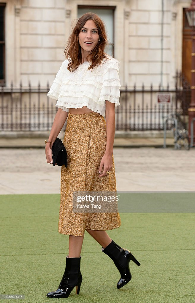 <a gi-track='captionPersonalityLinkClicked' href=/galleries/search?phrase=Alexa+Chung&family=editorial&specificpeople=3141821 ng-click='$event.stopPropagation()'>Alexa Chung</a> attends the Royal Academy Summer Exhibition Preview Party at the Royal Academy of Arts on June 4, 2014 in London, England.