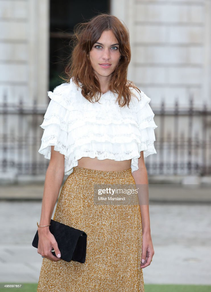 <a gi-track='captionPersonalityLinkClicked' href=/galleries/search?phrase=Alexa+Chung&family=editorial&specificpeople=3141821 ng-click='$event.stopPropagation()'>Alexa Chung</a> attends the Royal Academy Summer Exhibition Preview Party at Royal Academy of Arts on June 4, 2014 in London, England.