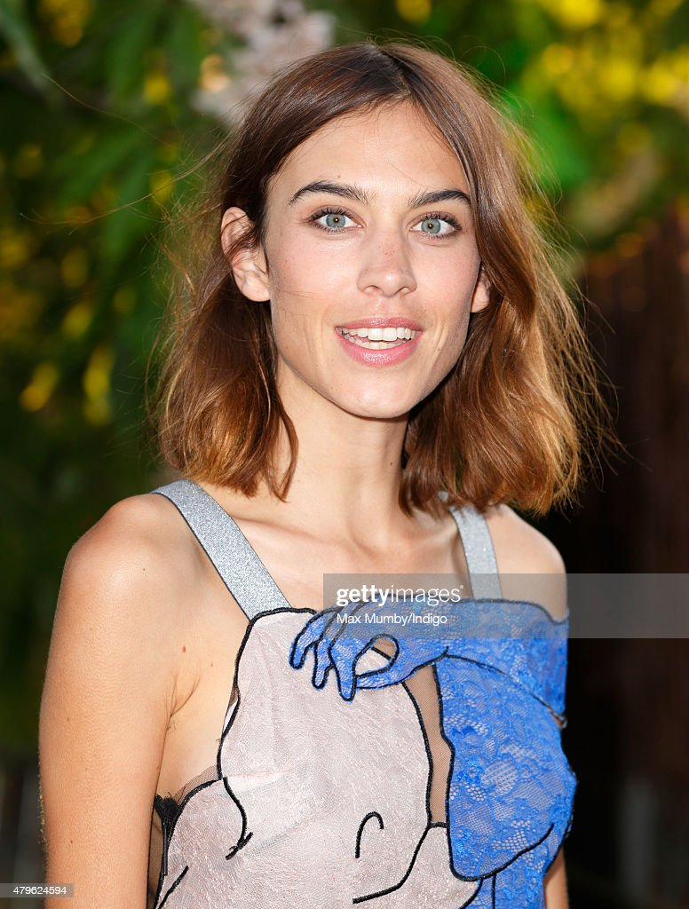 Alexa Chung attends the Serpentine Gallery Summer Party at The Serpentine Gallery on July 2, 2015 in London, England.
