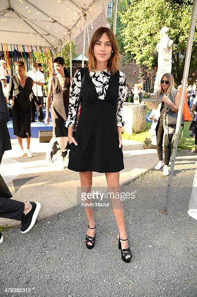 Alexa Chung attends the Stella McCartney Spring 2016 Resort Presentation on June 8 2015 in New York City