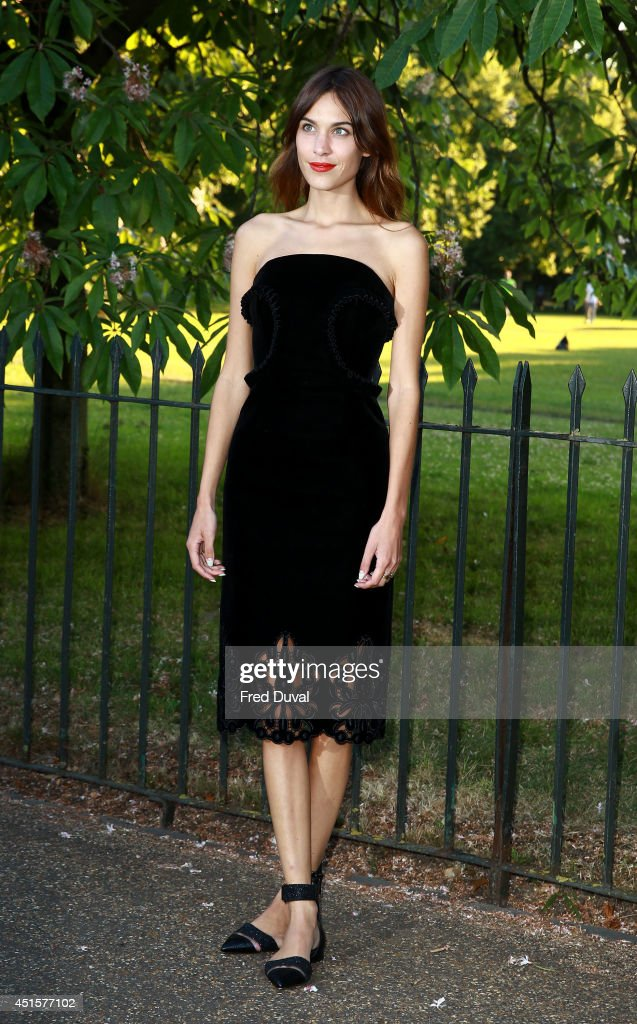 <a gi-track='captionPersonalityLinkClicked' href=/galleries/search?phrase=Alexa+Chung&family=editorial&specificpeople=3141821 ng-click='$event.stopPropagation()'>Alexa Chung</a> attends the The Serpentine Gallery summer party at The Serpentine Gallery on July 1, 2014 in London, England.