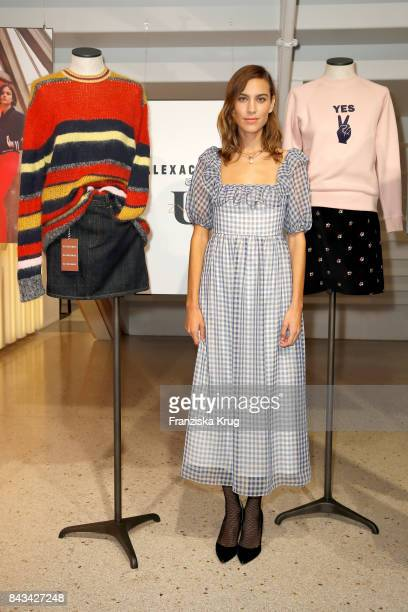 Alexa Chung attends the UZwei Store Opening on September 6 2017 in Hamburg Germany