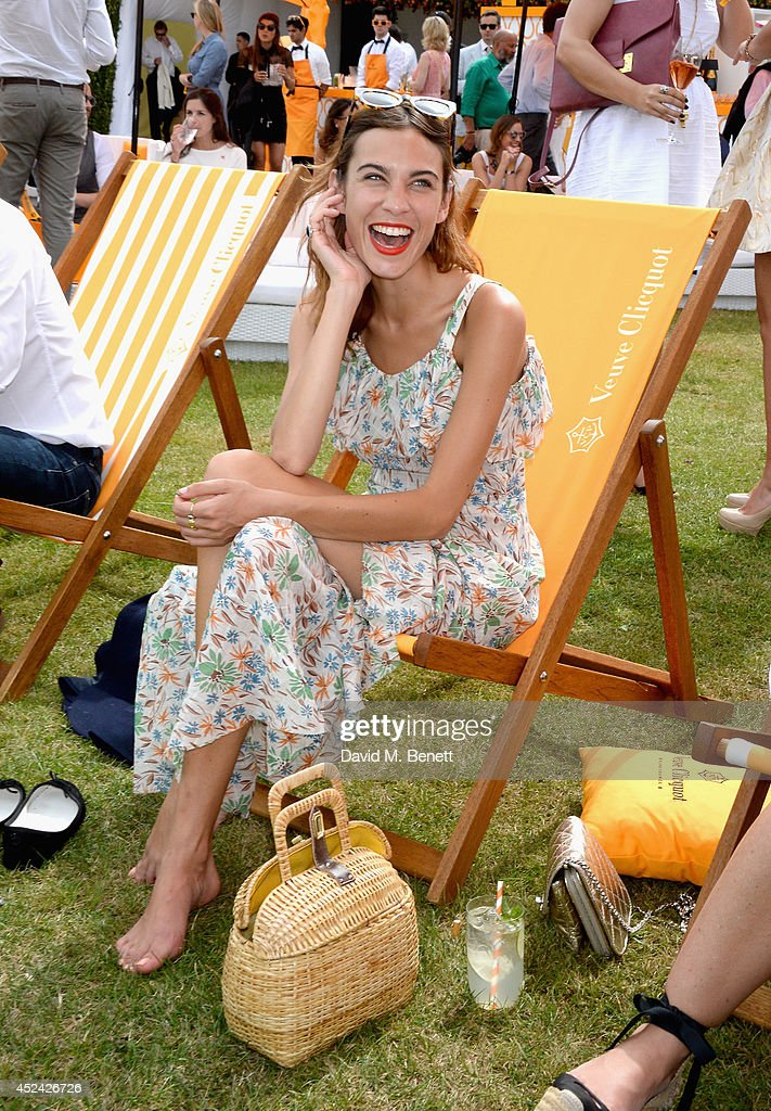 <a gi-track='captionPersonalityLinkClicked' href=/galleries/search?phrase=Alexa+Chung&family=editorial&specificpeople=3141821 ng-click='$event.stopPropagation()'>Alexa Chung</a> attends the Veuve Clicquot Gold Cup Final at Cowdray Park Polo Club on July 20, 2014 in Midhurst, England.