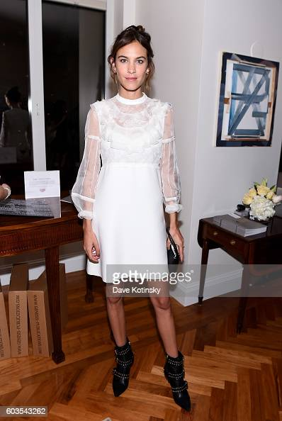 Alexa Chung celebrates wwwVogueCenturycom with Genesis Publications Alexandra Shulman of British Vogue and The GREAT Britain Campaign at the British...