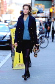Alexa Chung is seen on February 09 2012 in New York City