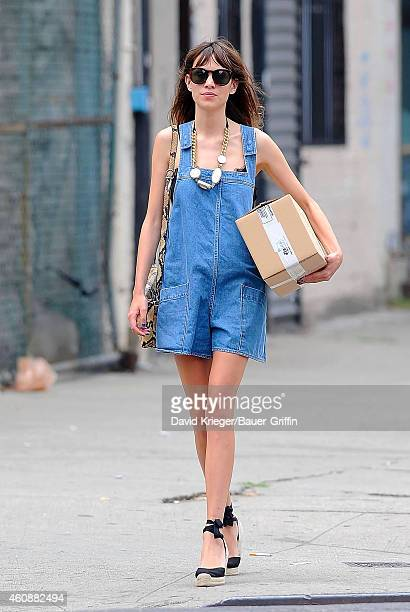 Alexa Chung is seen on July 15 2012 in New York City
