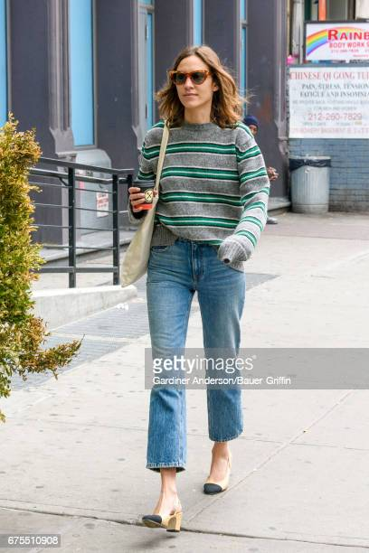 Alexa Chung is seen on May 01 2017 in New York City