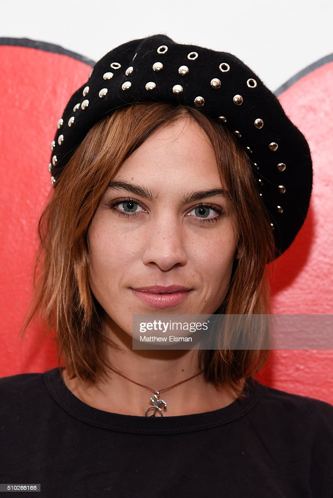 <a gi-track='captionPersonalityLinkClicked' href=/galleries/search?phrase=Alexa+Chung&family=editorial&specificpeople=3141821 ng-click='$event.stopPropagation()'>Alexa Chung</a> poses during The Deep End Club Collection launch hosted by <a gi-track='captionPersonalityLinkClicked' href=/galleries/search?phrase=Alexa+Chung&family=editorial&specificpeople=3141821 ng-click='$event.stopPropagation()'>Alexa Chung</a> at The Deep End Club on February 14, 2016 in New York City.