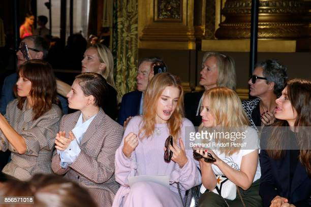 Alexa Chung singer of 'Christine and the Queens' Eloise Letissier Natalia Vodianova Kylie Minogue and Charlotte Casiraghi attend the Stella McCartney...