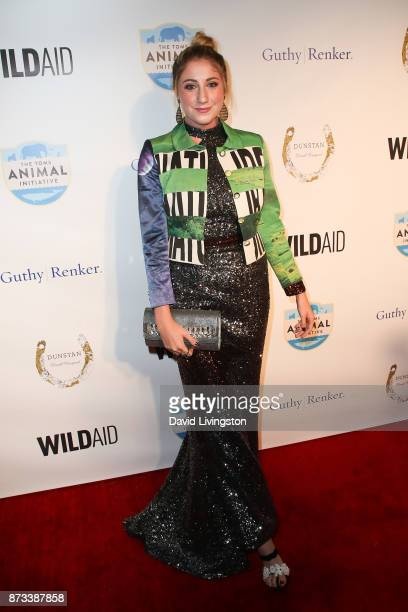 Alexa Curtis arrives at the Evening with WildAid at the Beverly Wilshire Four Seasons Hotel on November 11 2017 in Beverly Hills California