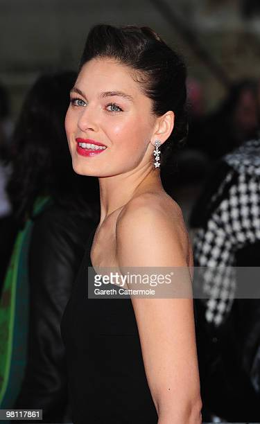 Alexa Davalos arrives at the World Film Premiere of 'Clash of the Titans' at the Empire Leicester Square on March 29 2010 in London England
