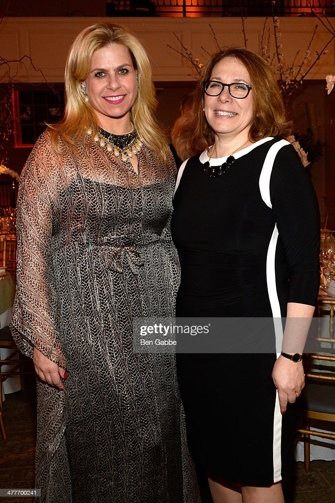 Alexa Hampton (L) and Ellen Fisher attend the New York School Of Interior Design 2014 Benefit Dinner at 583 Park Avenue on March 10, 2014 in New York City.