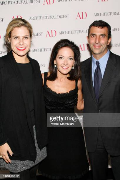 Alexa Hampton Margaret Russell and Giulio Capua attend Conde Nast Welcomes Margaret Russell as Architectural Digest's EditorInChief at Riverpark on...
