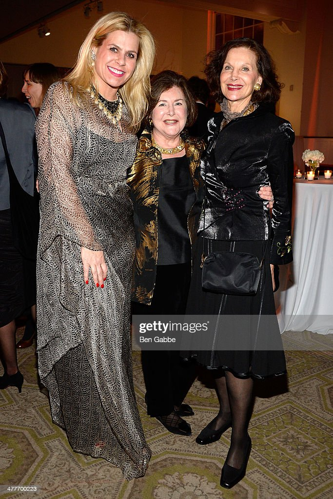 Alexa Hampton, Patrica Sovern and Jill Spalding attend the New York School Of Interior Design 2014 Benefit Dinner at 583 Park Avenue on March 10, 2014 in New York City.