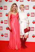 Alexa Maria Surholt and Andrea Kathrin Loewig attend the Ein Herz Fuer Kinder Gala 2014 Red Carpet Arrivals on December 6 2014 in Berlin Germany