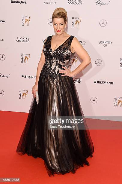 Alexa Maria Surholt attends Kryolan at the Bambi Awards 2014 on November 13 2014 in Berlin Germany