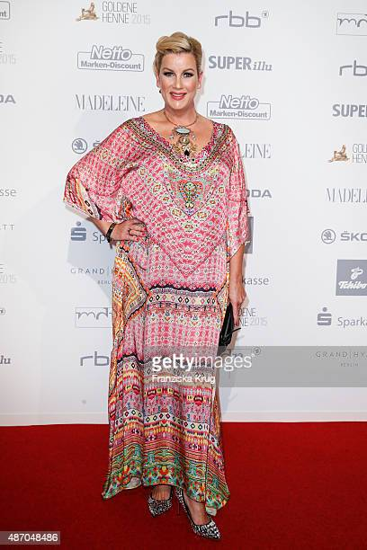 Alexa Maria Surholt attends Madeleine At Goldene Henne 2015 on September 05 2015 in Berlin Germany