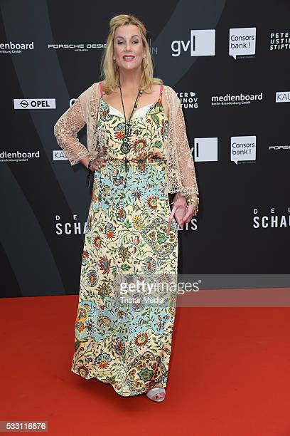 Alexa Maria Surholt attends the Deutscher Schauspielerpreis 2016 on May 20 2016 in Berlin Germany