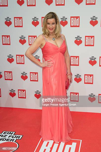 Alexa Maria Surholt attends the Ein Herz Fuer Kinder Gala 2014 at Tempelhof Airport on December 6 2014 in Berlin Germany