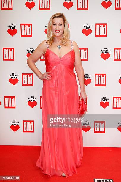Alexa Maria Surholt attends the Ein Herz Fuer Kinder Gala 2014 Red Carpet Arrivals on December 6 2014 in Berlin Germany