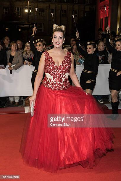 Alexa Maria Surholt attends the Opera Ball Leipzig at Opernhaus on October 18 2014 in Leipzig Germany