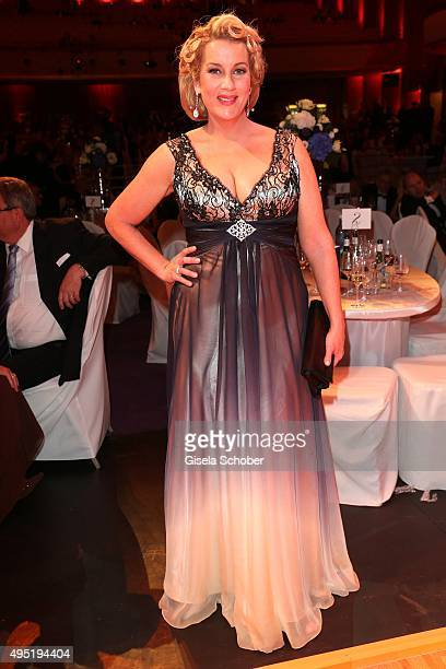 Alexa Maria Surholt during the Leipzig Opera Ball 2015 on October 31 2015 in Leipzig Germany