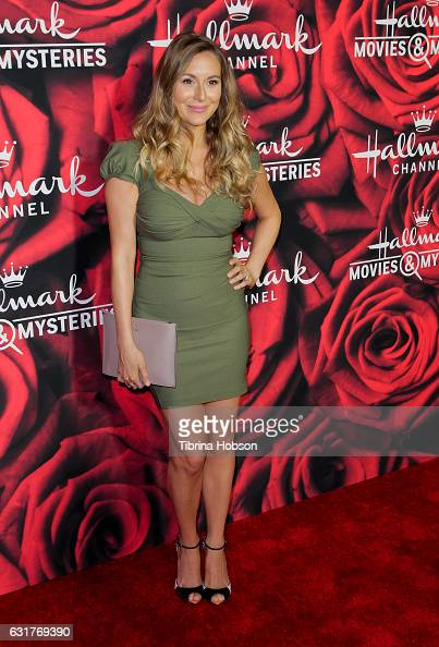 Alexa PenaVega attends Hallmark Channel Movies and Mysteries Winter 2017 TCA Press Tour at The Tournament House on January 14 2017 in Pasadena...