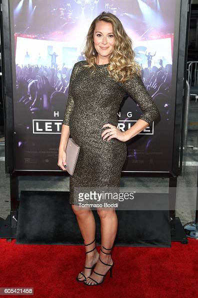 Alexa PenaVega attends the premiere of Pure Flix Entertainment's 'Hillsong Let Hope Rise' held at Mann Village Theatre on September 13 2016 in...