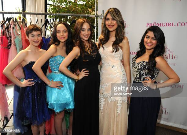 Alexa Ray Joel and guests Partner With PromGirl to Launch #PromGirlUp Selfie Campaign at Gramercy Park Hotel on April 16 2014 in New York City