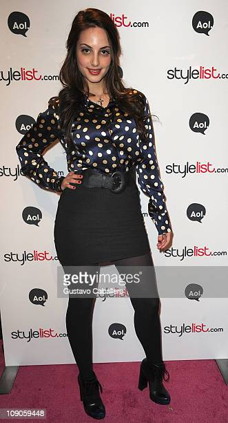 Alexa Ray Joel attends AOL's Studio at The Tents in Lincoln Center during MerecedesBenz Fall 2011 Fashion Week on February 13 2011 in New York City