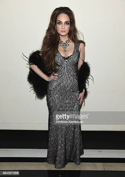 Alexa Ray Joel attends Cafe Carlyle on February 24 2015 in New York City