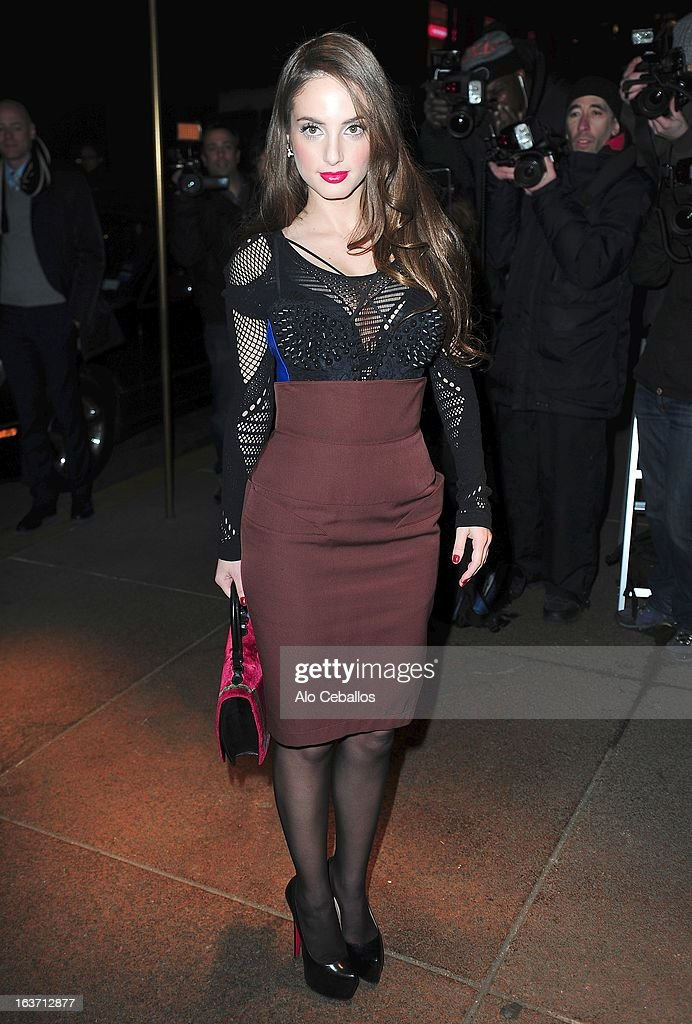 Alexa Ray Joel attends The New York Observer 25th Anniversary Party at the Four Seasons Restaurant on March 14, 2013 in New York City.