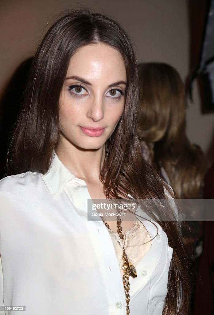 Alexa Ray Joel attends the Social Life Magazine 10 Year Anniversary Party at 70 Tanager Lane on May 25, 2013 in Watermill, New York.