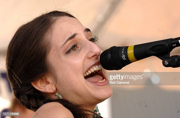 Alexa Ray Joel during 38th Annual New Orleans Jazz Heritage Festival Presented by Shell Alexa Ray Joel at Fair Grounds Race Course in New Orleans...