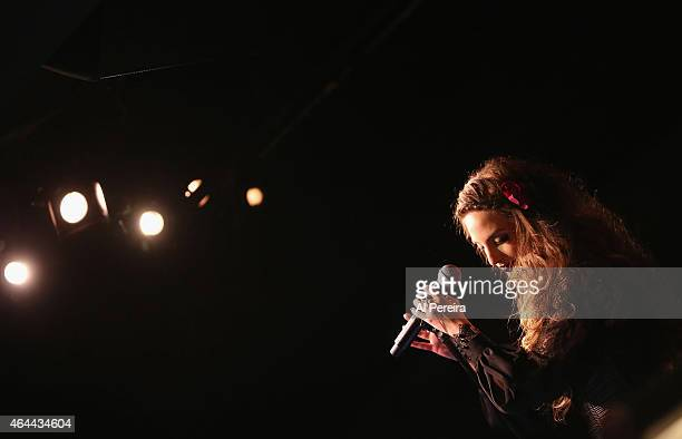 Alexa Ray Joel performs at Cafe Carlyle on February 25 2015 in New York City
