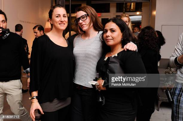 Alexa Ryan Wendy Cassidy and Simone Renee attend Opening of DEDON'S New York Showroom Featuring Works by BRUCE WEBER at DEDON November 17th 2010 in...