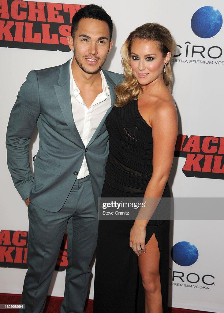Alexa Vega arrives at the 'Machete Kills' - Los Angeles Premiere at Regal Cinemas L.A. Live on October 2, 2013 in Los Angeles, California.